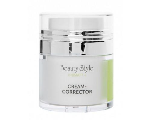 """Матирующий крем корректор пор и сального блеска для жирной и смешанной кожи лица """"UNIMATT +"""" 30 мл Beauty Style"""