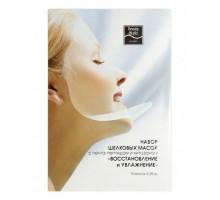 Шелковая маска для лица с хитозаном, Beauty Style